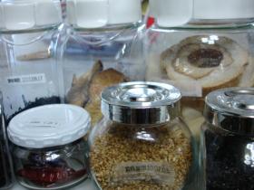 食材を入れた保存容器