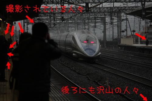 新幹線米原駅