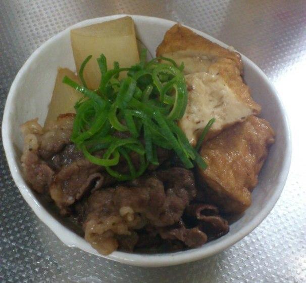 厚揚げ肉豆腐