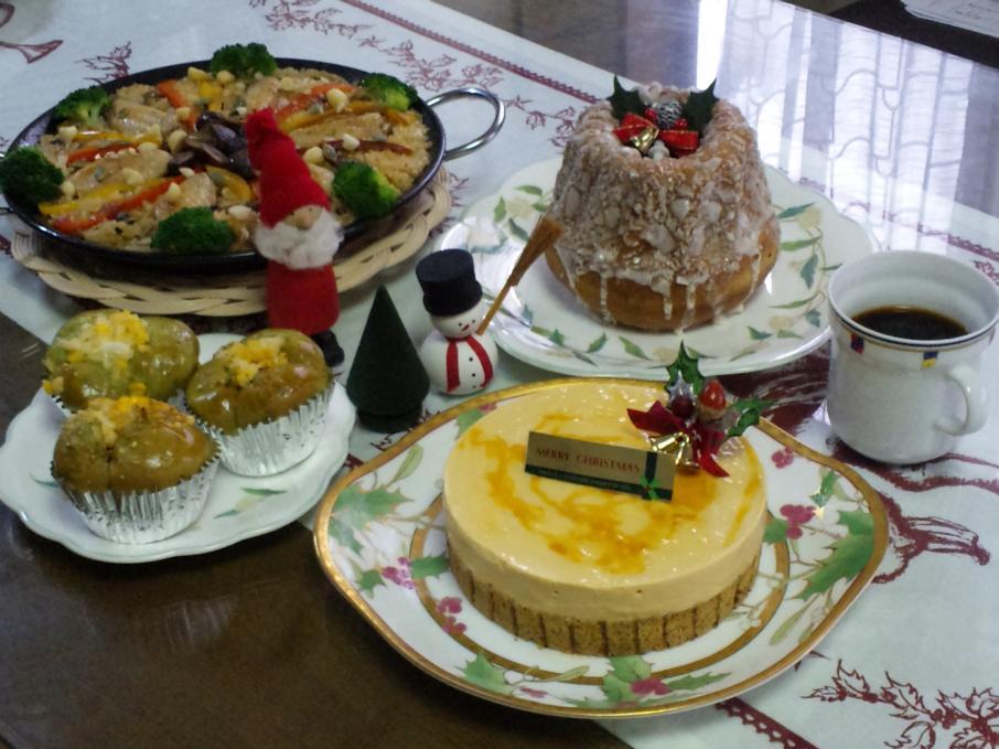 パン教室~クリスマス講習