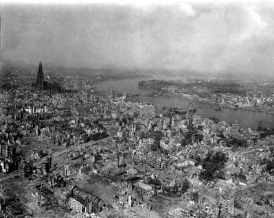 第2次世界大戦直後のケルン