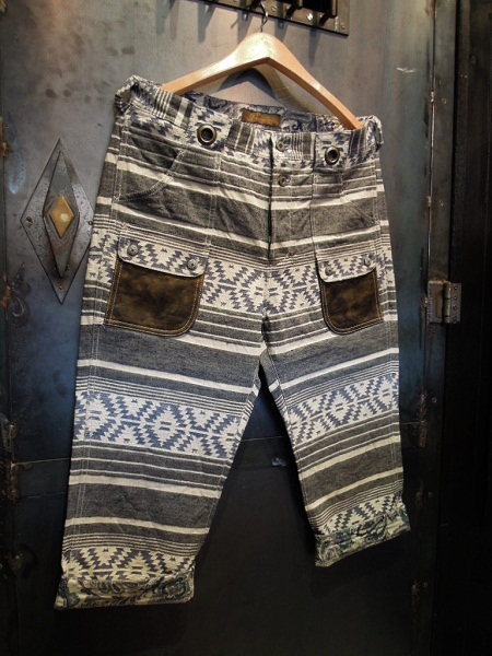 BURNOUT NATIVE CROPPED PANTS (2)