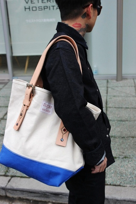 O.C Style STUDS TOTE BAG (1)