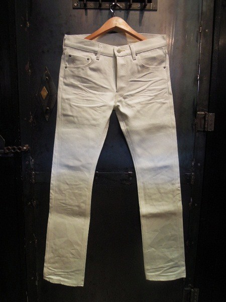 SOUTH ROAD TIGHT STRAIGHT PANTS 3D WHITE (1)