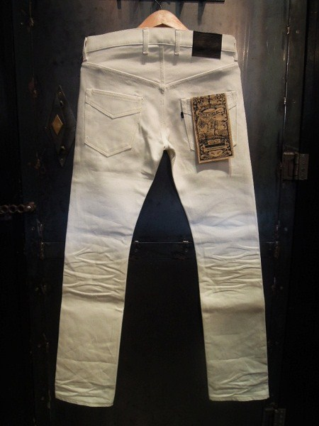 SOUTH ROAD TIGHT STRAIGHT PANTS 3D WHITE (5)