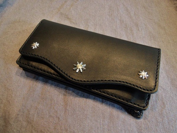SOUTH ROAD KEN KIKUCHI SR-FLOWER CONCHO LONG WALLET (1)