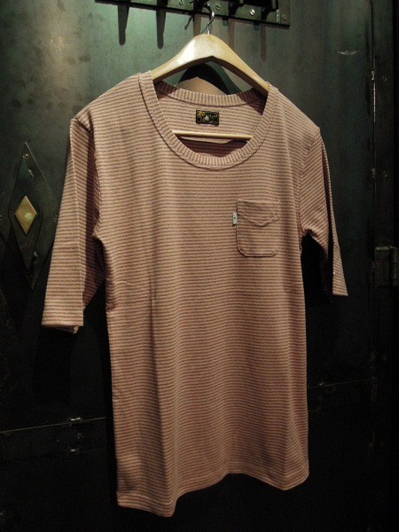 SOUTH ROAD FRAISE BORDER U-NECK Tee (1)