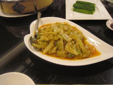 レタスの炒め物