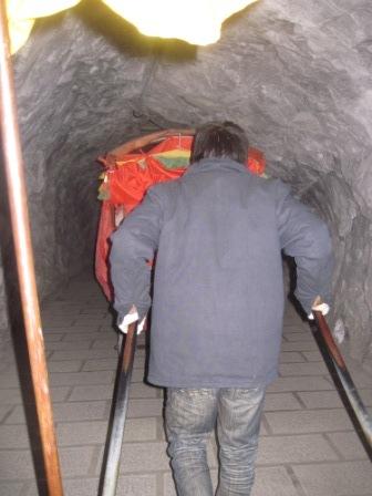 トンネルもありますよ