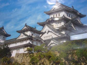 姫路城圧縮