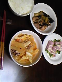 昨日の晩御飯♪