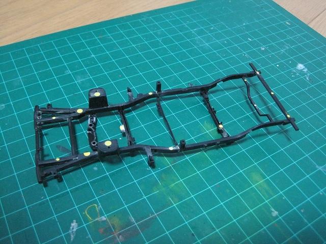 アオシマ TT2 サンバー 製作 WRブルー