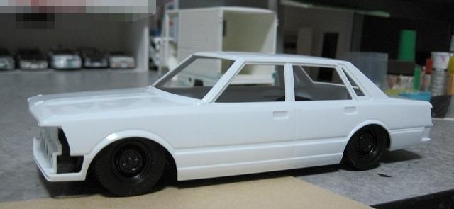 アオシマ 430セダン 車高短