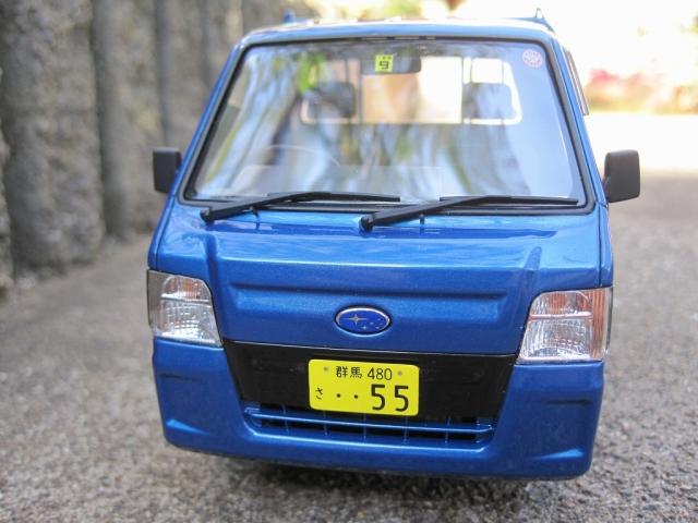 アオシマ TT2 サンバー WRブルーリミテッド
