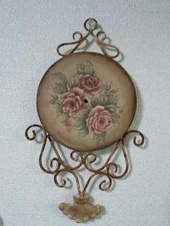 薔薇・時計