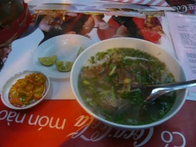 ベトナムで食べた麺1