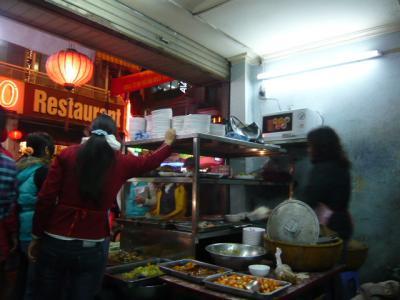 ベトナムの定食屋さん1
