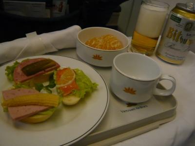 ベトナム航空 フエ→ホーチミン(ビジネス)3