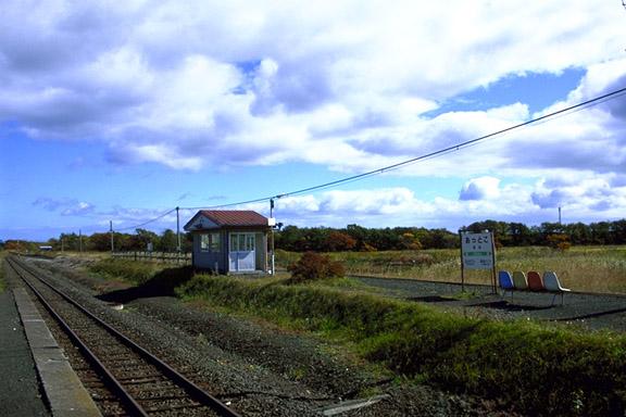 厚床駅 「鉄道風景」RAILROADS O...