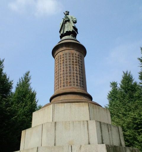 大村益次郎の像