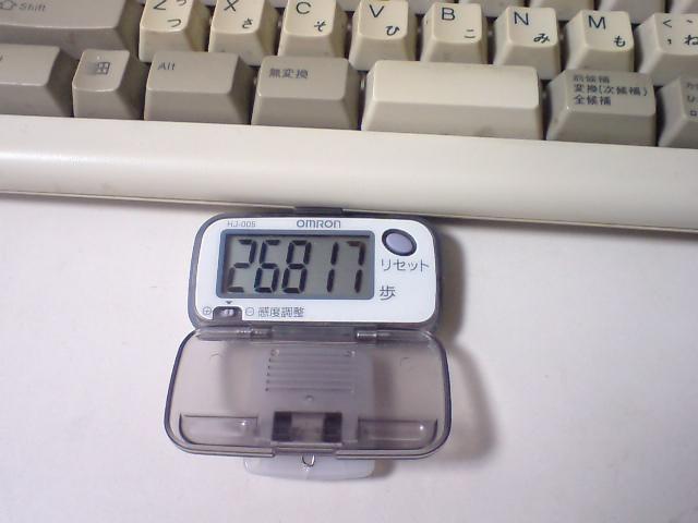 26817歩