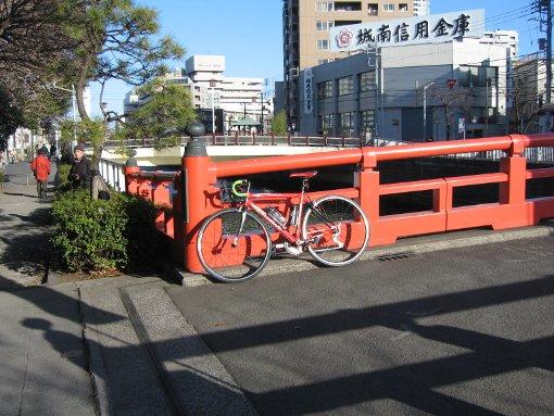 気持ち良さそうな自転車君