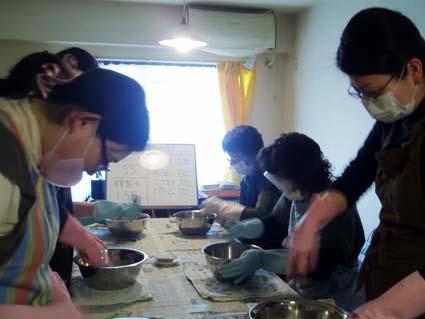 2010年2月気まぐれ魔女の手づくり石けん教室