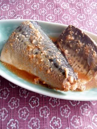 大人風味★サバの味噌コチュジャン煮01