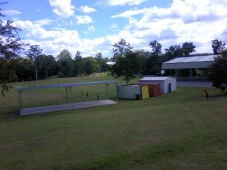 学校のグランド