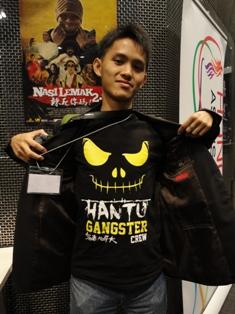 HANTU GANGSTERスタッフTシャツ