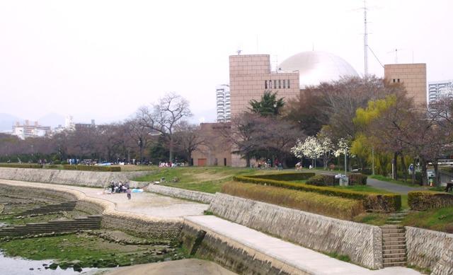 DSCF1371 大田川河畔