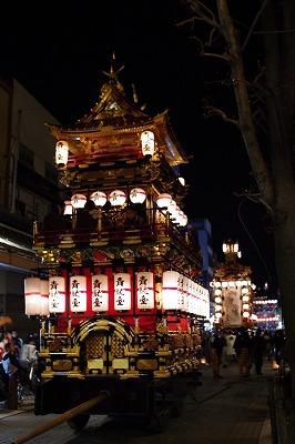 高山祭 夜祭1