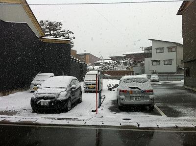 雪が降る景色2