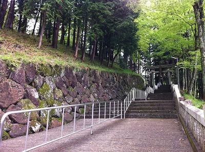 気多若宮神社 参道の階段