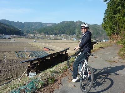 春のサイクリング