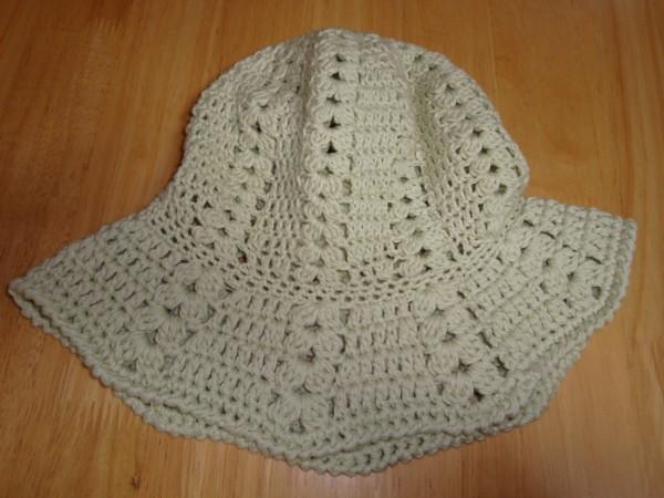 春用の帽子です。