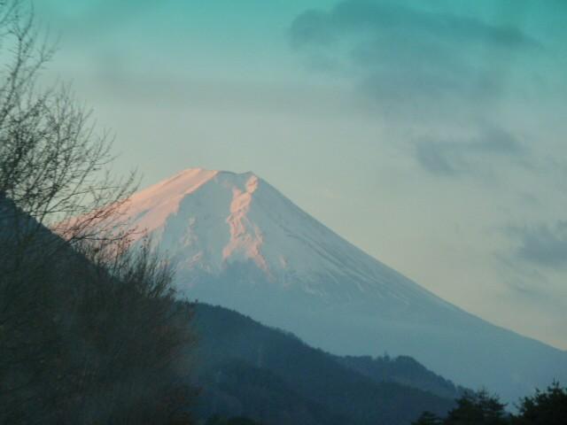 289今日は富士がきれい。