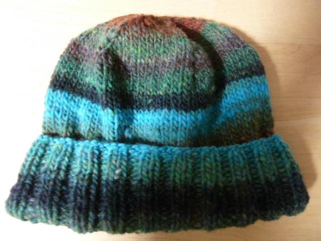 506NOROさんの毛糸で編みました。