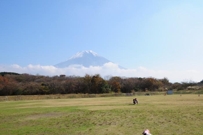 やって来た富士の裾野・・・