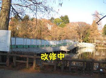七井橋改修中