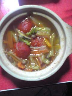 免疫力Up?野菜スープ