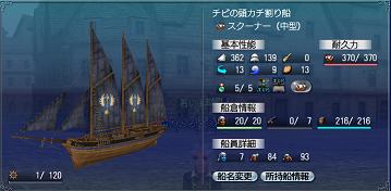 チビの移動船完成♪