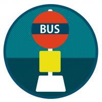 バス停2b
