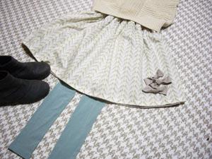 リボンスカート3