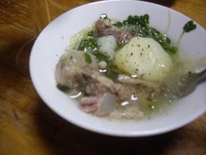 軟骨スープ