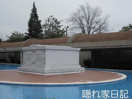 キング牧師と奥様のお墓