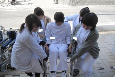 車椅子体験②
