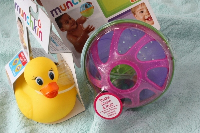 Munchkin, Safety Bath Ducky Baby Bath Ball