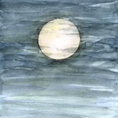 明るいお月さま