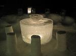 氷のテーブル(夜)